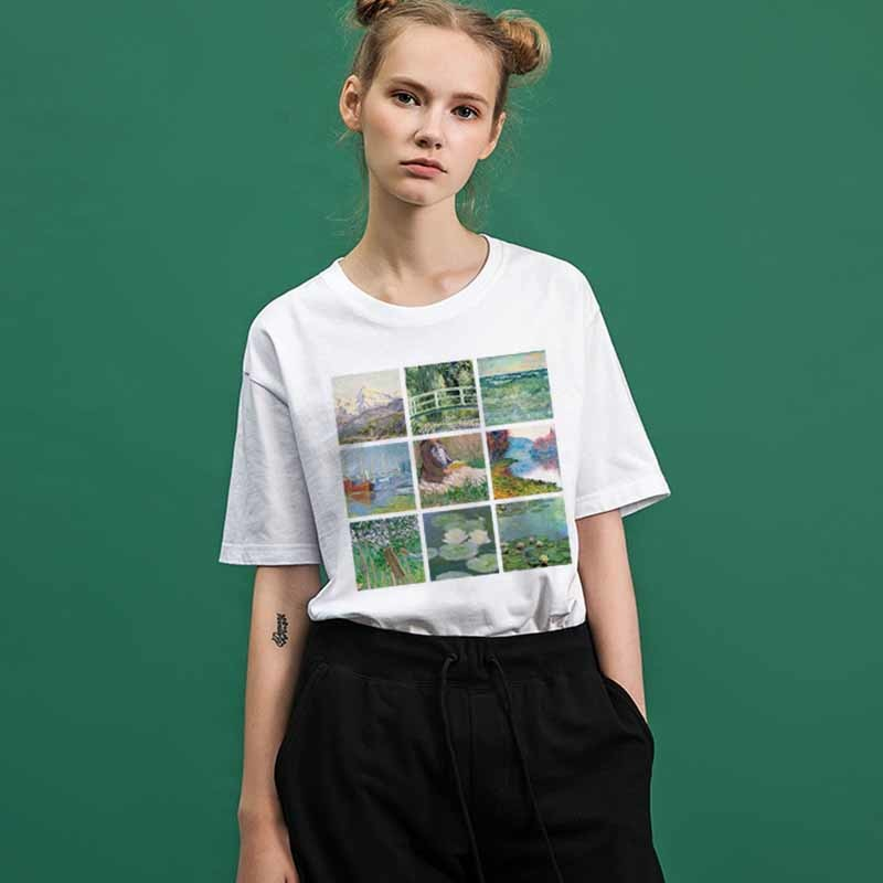 """MONET PAINTINGS"" TEE"