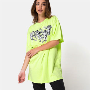 """Angel Neon Green"" TEE"