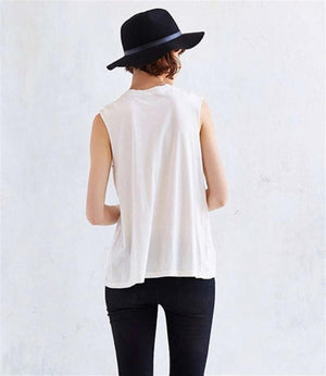 """LA LUNE"" SLEEVELESS TOP"