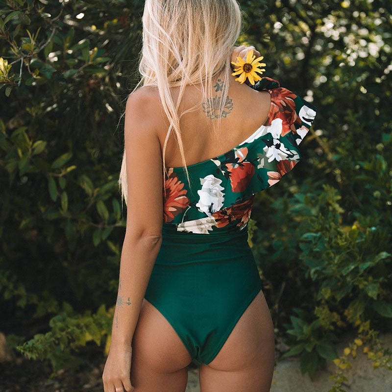 """ONE SHOULDER"" SWIMSUIT"