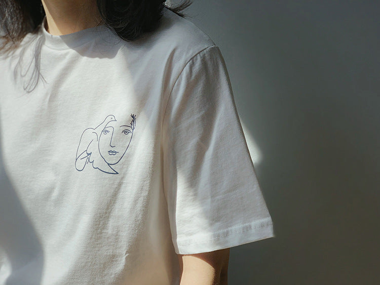 """PICASSO INSPIRED"" TEE"
