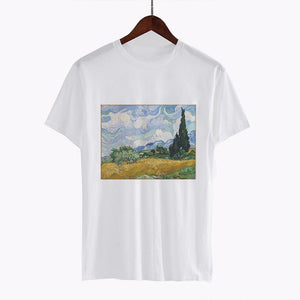 """The Great Wave Van Gogh"" TEE"
