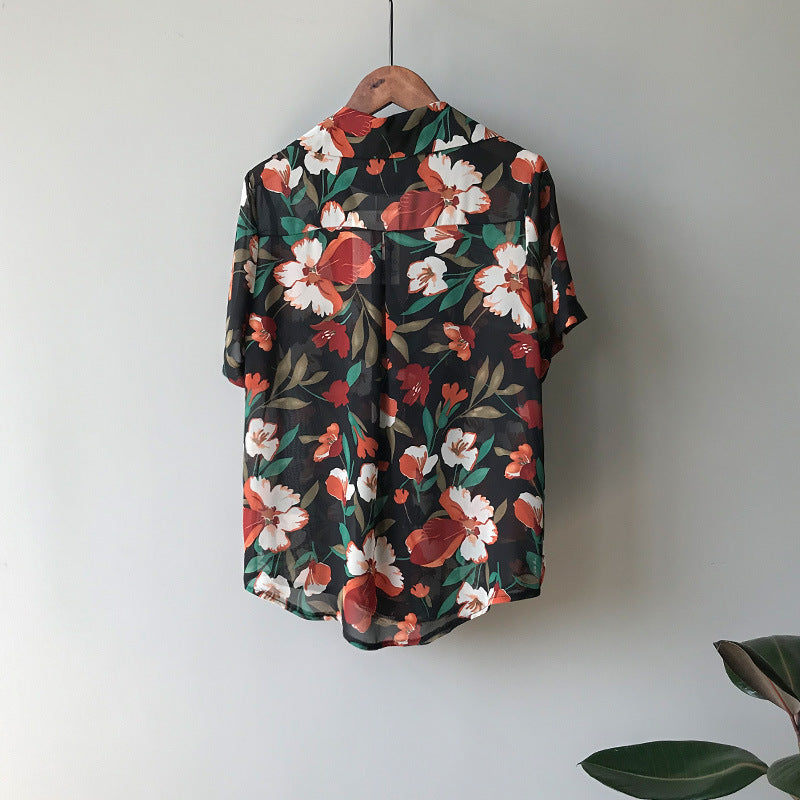 """FLOWER ART"" SHIRT"