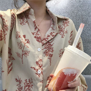 """Loose Flowers"" Shirt"