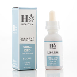 500 mg Zero THC Hemp Extract Tincture
