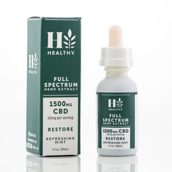 1,500 mg Full Spectrum Hemp Extract Tincture