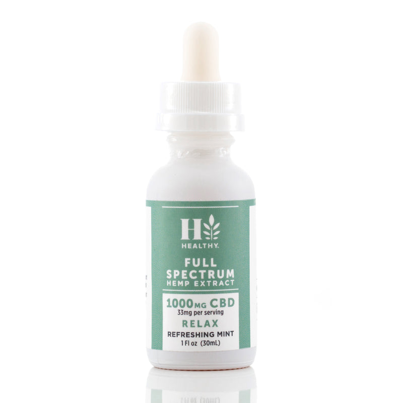 1,000 mg Full Spectrum Hemp Extract Tincture