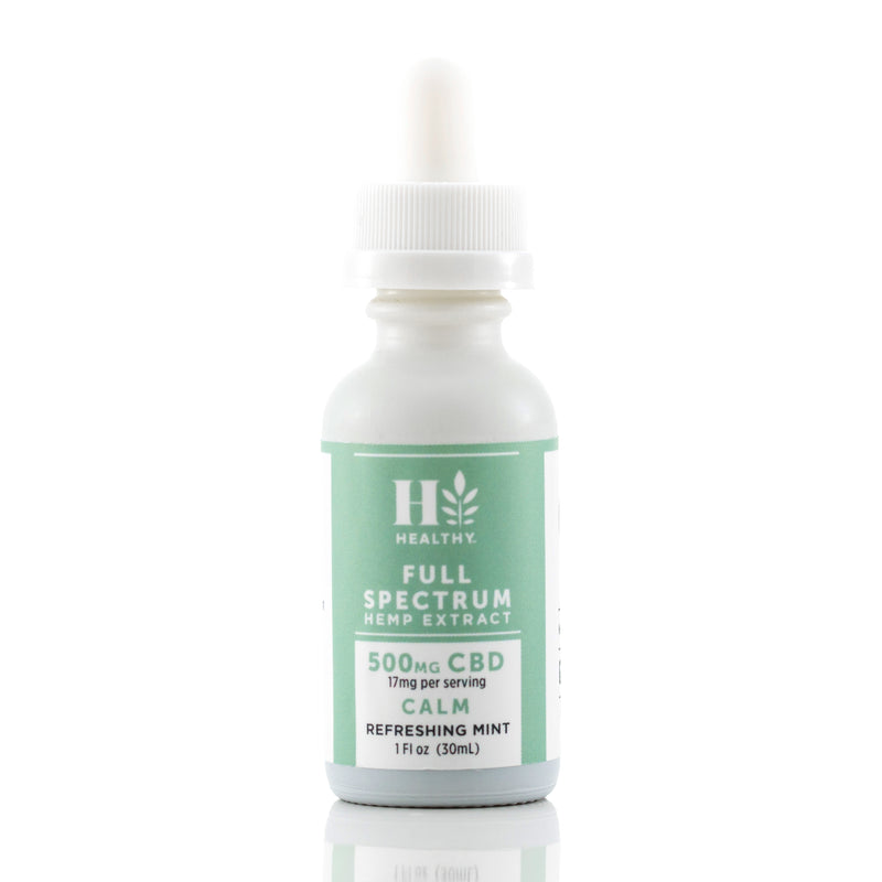 500 mg Full Spectrum Hemp Extract Tincture
