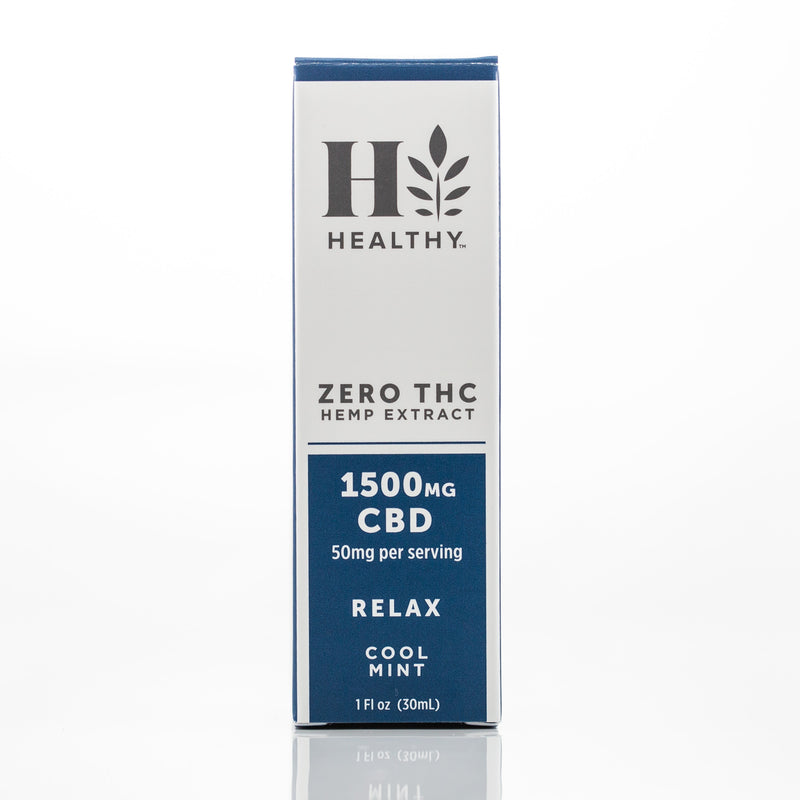 1,500 mg Zero THC Hemp Extract Tincture