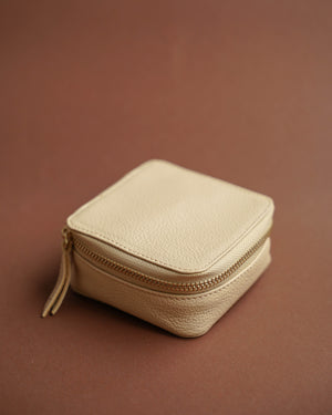 Leather Clip/Jewelry Case (Large)