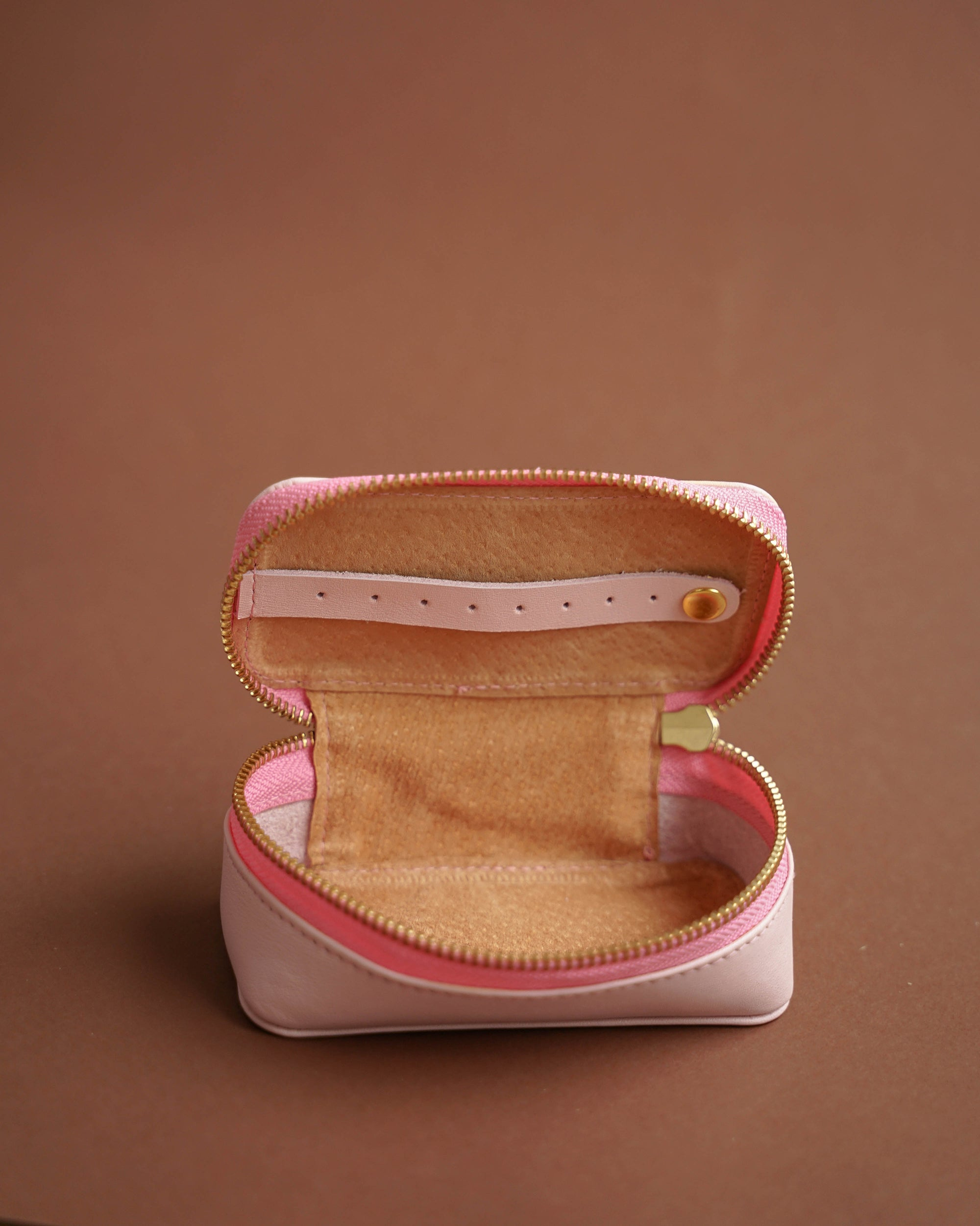 Leather Clip/Jewelry Case (Small)