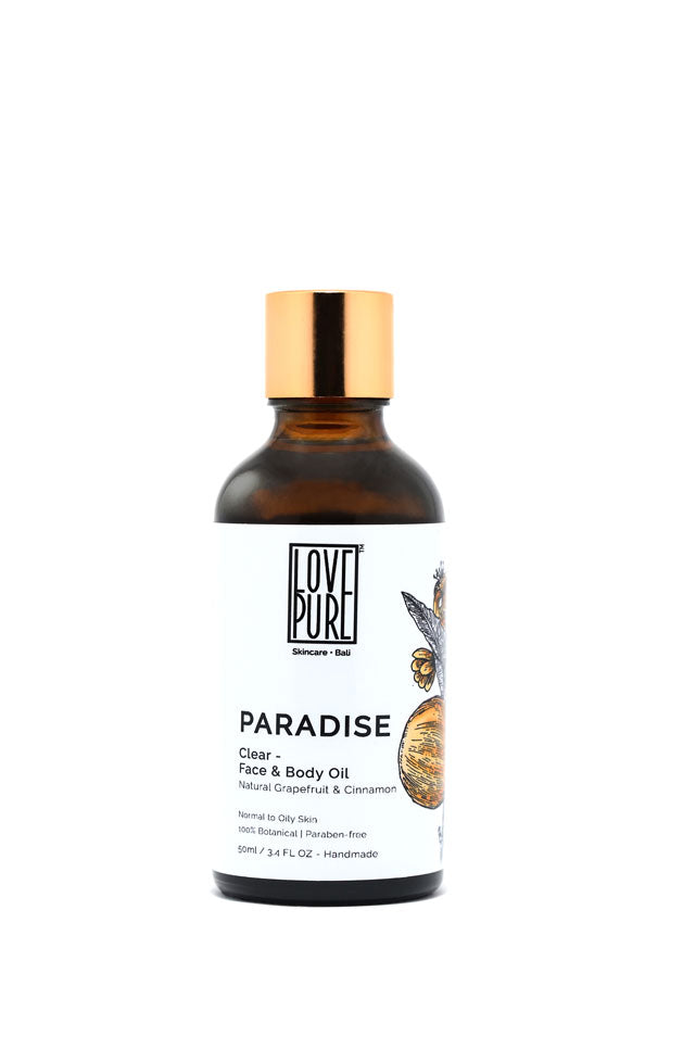 Face Care & Oil Balance with Grapefruit & Cinnamon - Paradise