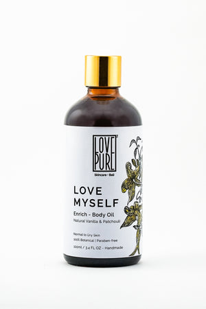 Moisturizer & anti-aging Body Oil - Love Myself