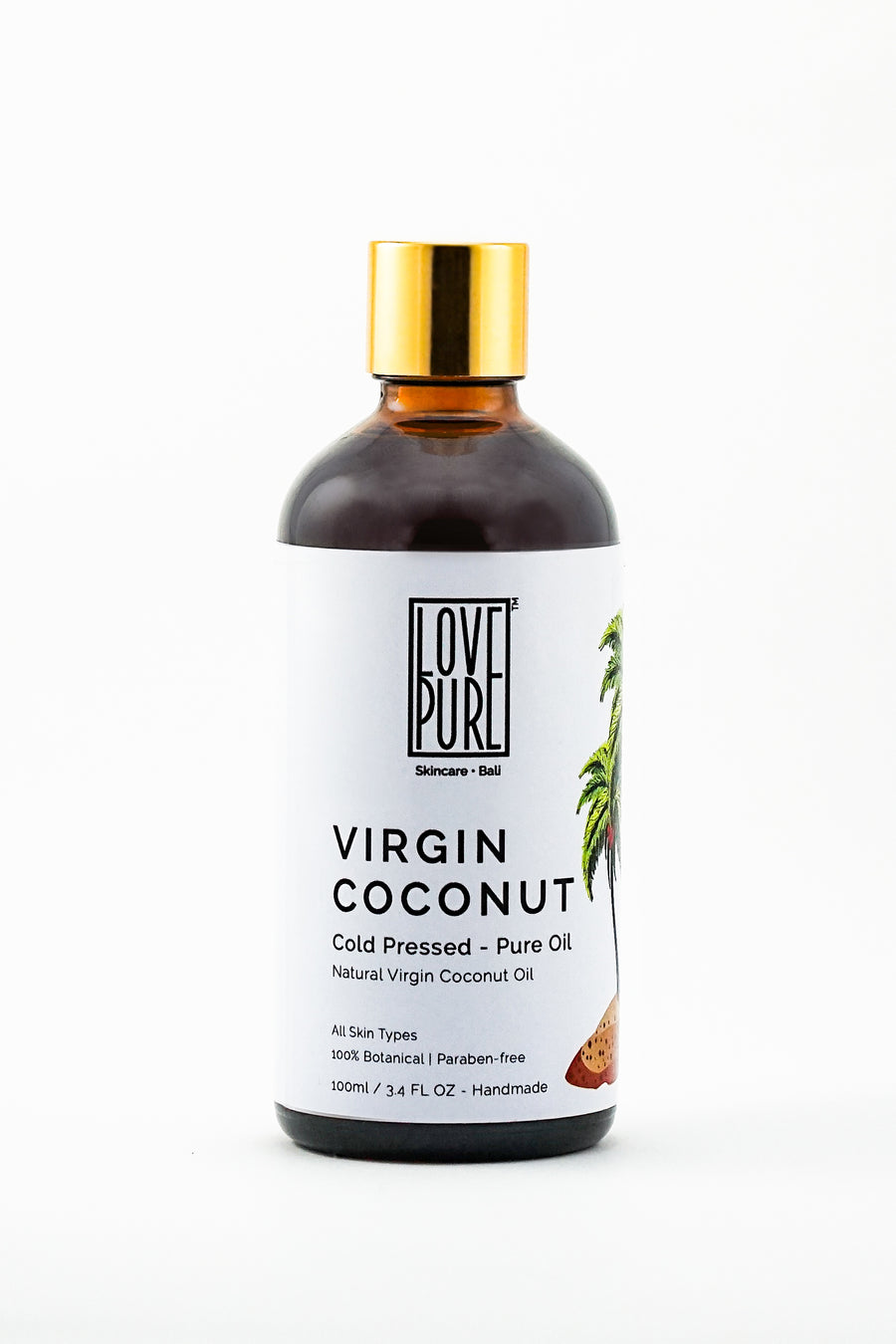 Pure cold pressed Virgin Coconut Oil 100ml
