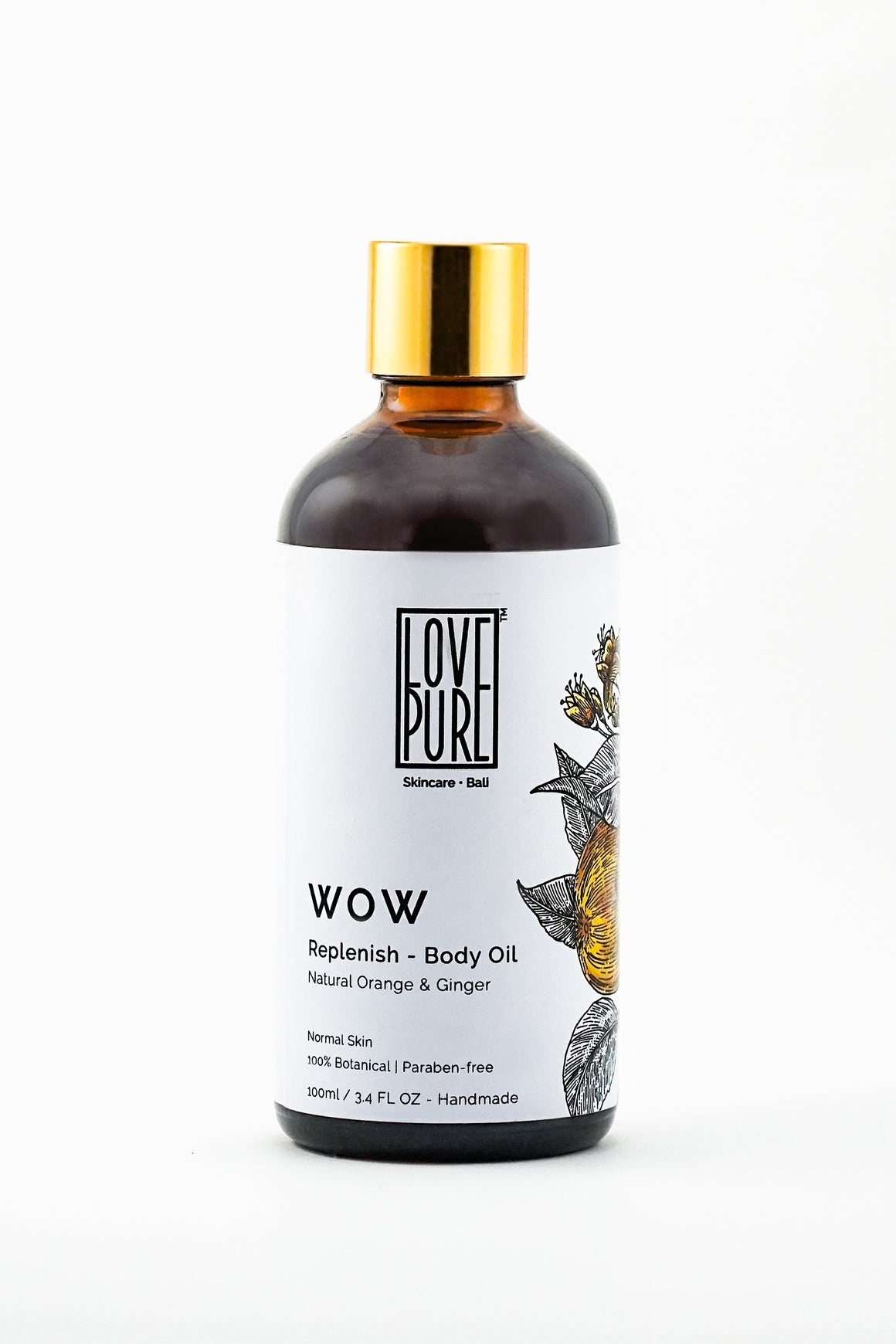 Moisturizer & uplifting Body Oil with pure sweet Orange - WoW