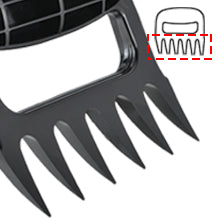 6 super sharp meat claw prongs with solid construction