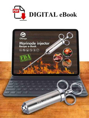 Recipe eBook for Stainless Steel Meat Injector