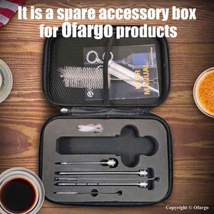 ofargo meat injector spare cleaning brush for needle and barrel ebook use instruction zipper case