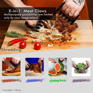 Bear Claws Meat Shredders (2 Packs)