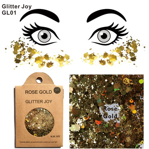 Glitter Joy Rose Gold Glitter
