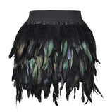 Peacock Feather Skirt