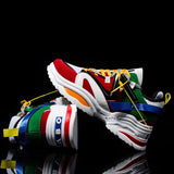 Mens Multi Coloured Sneakers