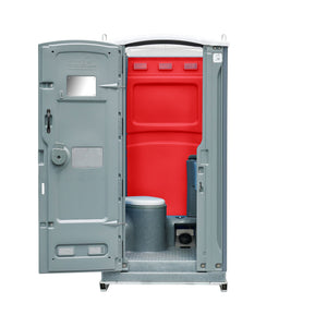 Statesman Portable Toilet Red