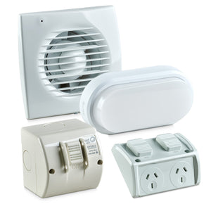 Electrical Light and Fan Package