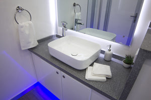 Luxury Ensuite Trailer Vanity