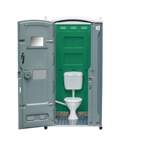 Sewer Connect Portable Toilet Green