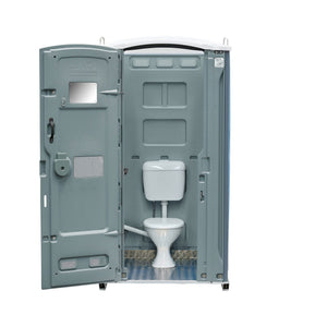 Sewer Connect Portable Toilet Grey