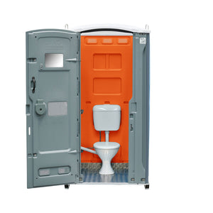 Sewer Connect Portable Toilet Orange