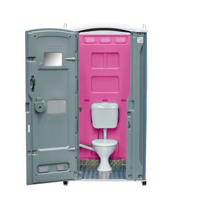 Sewer Connect Portable Toilet Pink