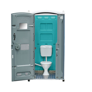 Sewer Connect Portable Toilet Teal