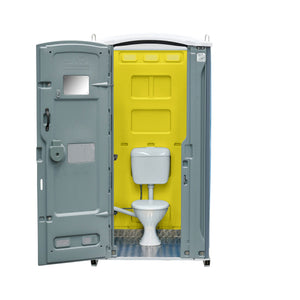 Sewer Connect Portable Toilet Yellow