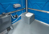 Super Senator Portable Toilet Self Contained - Internal
