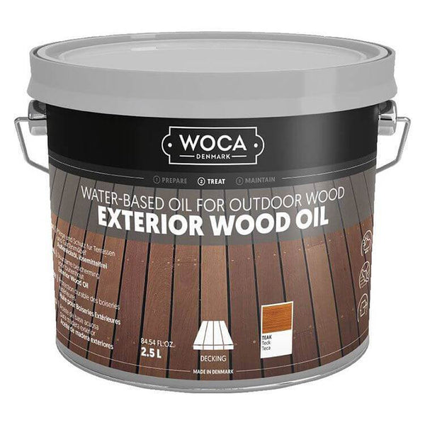 Exterior Oil - Saturateur WOCA - Naturel - 2.5L WOCA