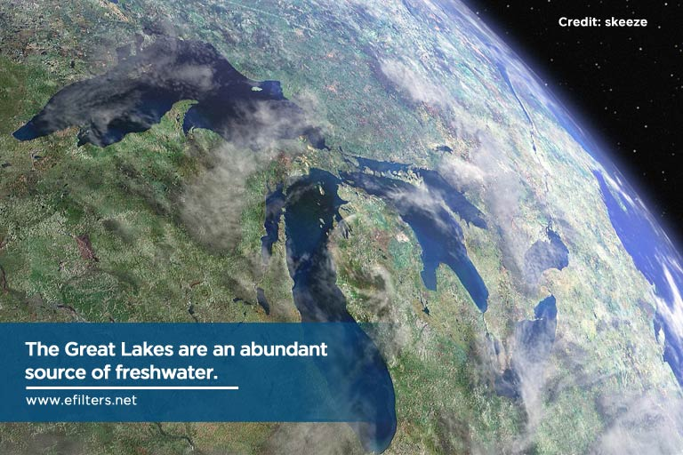 The Great Lakes are an abundant source of freshwater