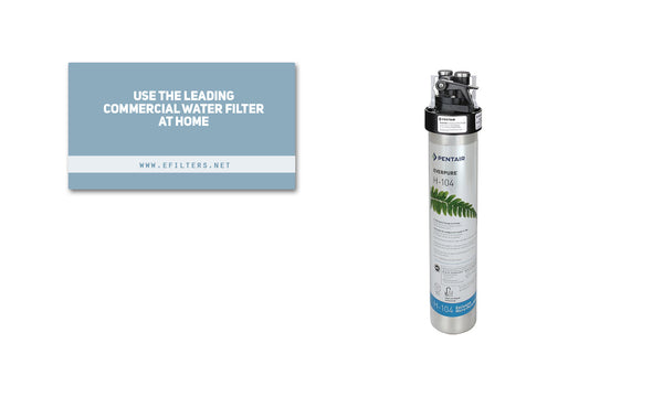 Use the leading commercial water filter at home