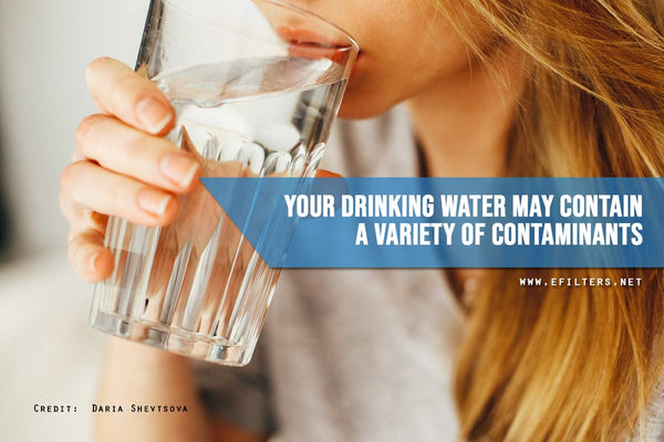 drinking water contain contaminants