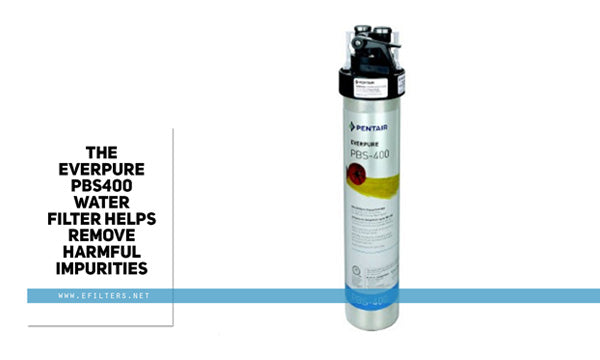 The Everpure PBS400 Water Filter helps remove harmful impurities.