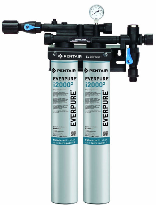 Everpure Insurice i2000(2) Twin Water Filter System EV9324-02 - Efilters.net
