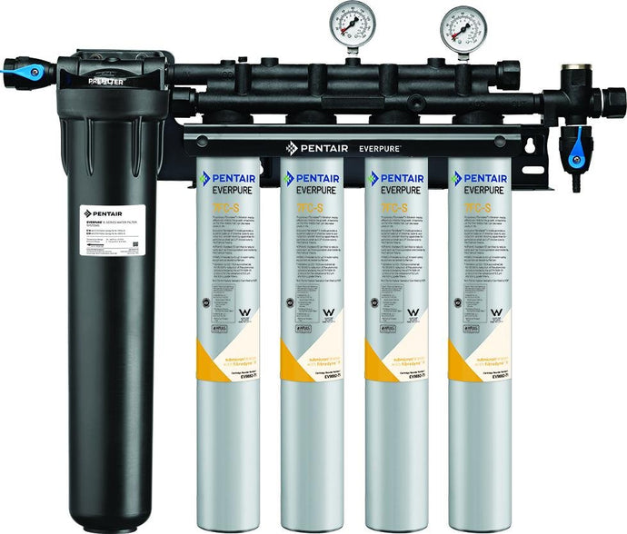 Everpure Insurice PF Quad 7FCS Water Filter System EV9327-74 - Efilters.net