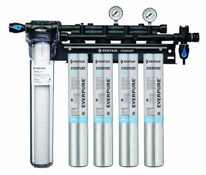 Everpure Insurice Quad PF-7SI Water Filter System EV9324-77 - Efilters.net
