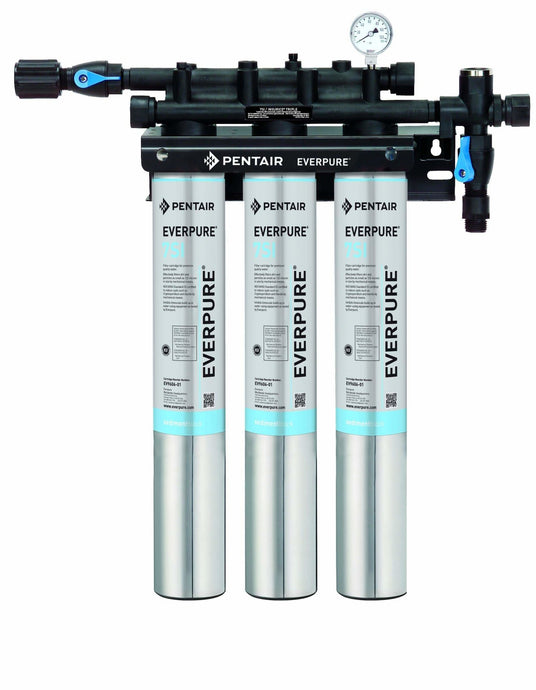 Everpure Insurice Triple 7SI Water Filter System EV9324-74 - Efilters.net