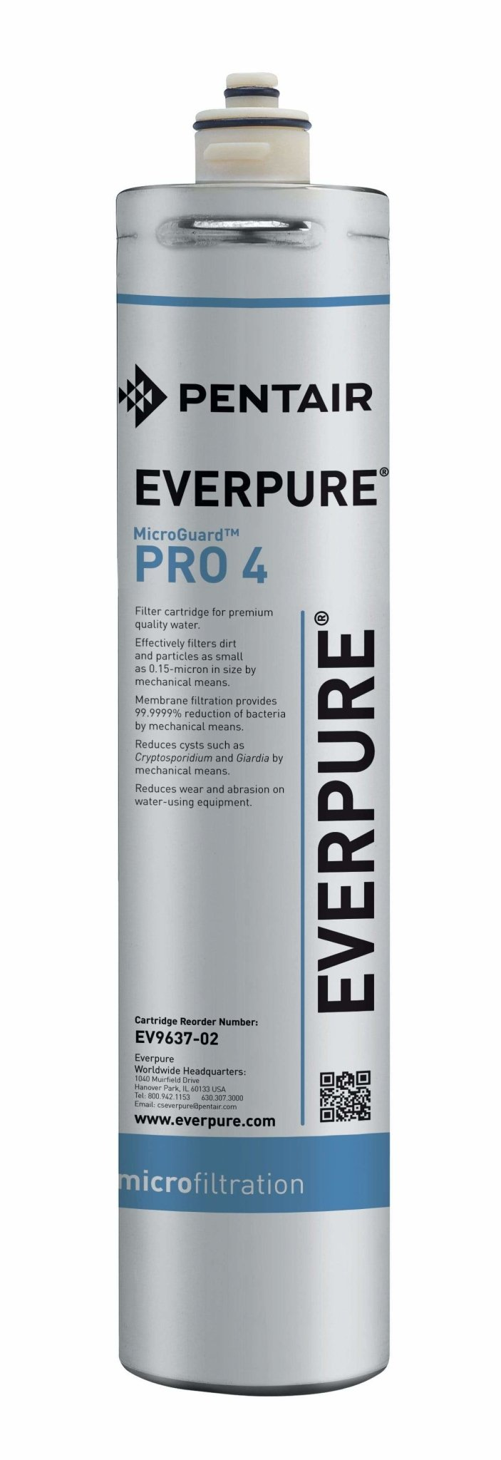 Everpure MicroGuard Pro 4 Cartridge EV9637-02 - Efilters.net