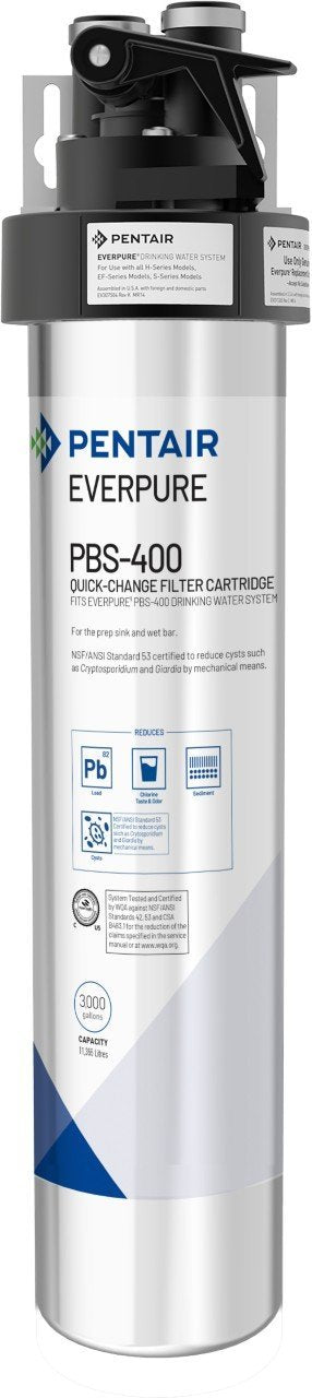 Everpure PBS400 Drinking Water System EV9270-85 (3,000 gallons) - Efilters.net