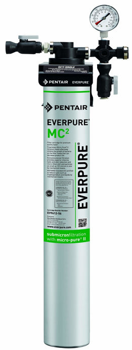Everpure QC7i-MC(2) Single Water Filter System EV9275-01 - Efilters.net
