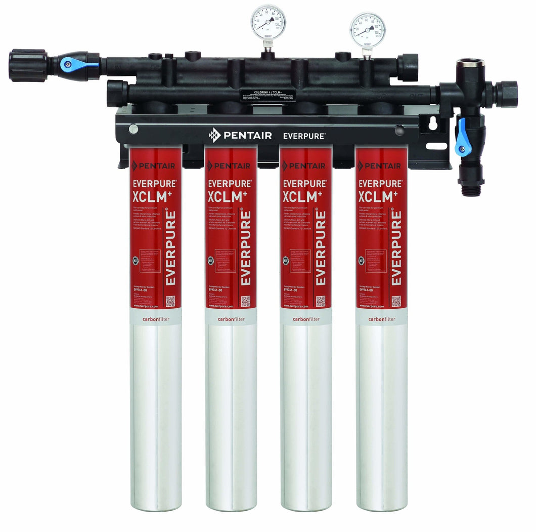 Everpure QC7i Quad XCLM+ Water Filter System EV9761-14 - Efilters.net