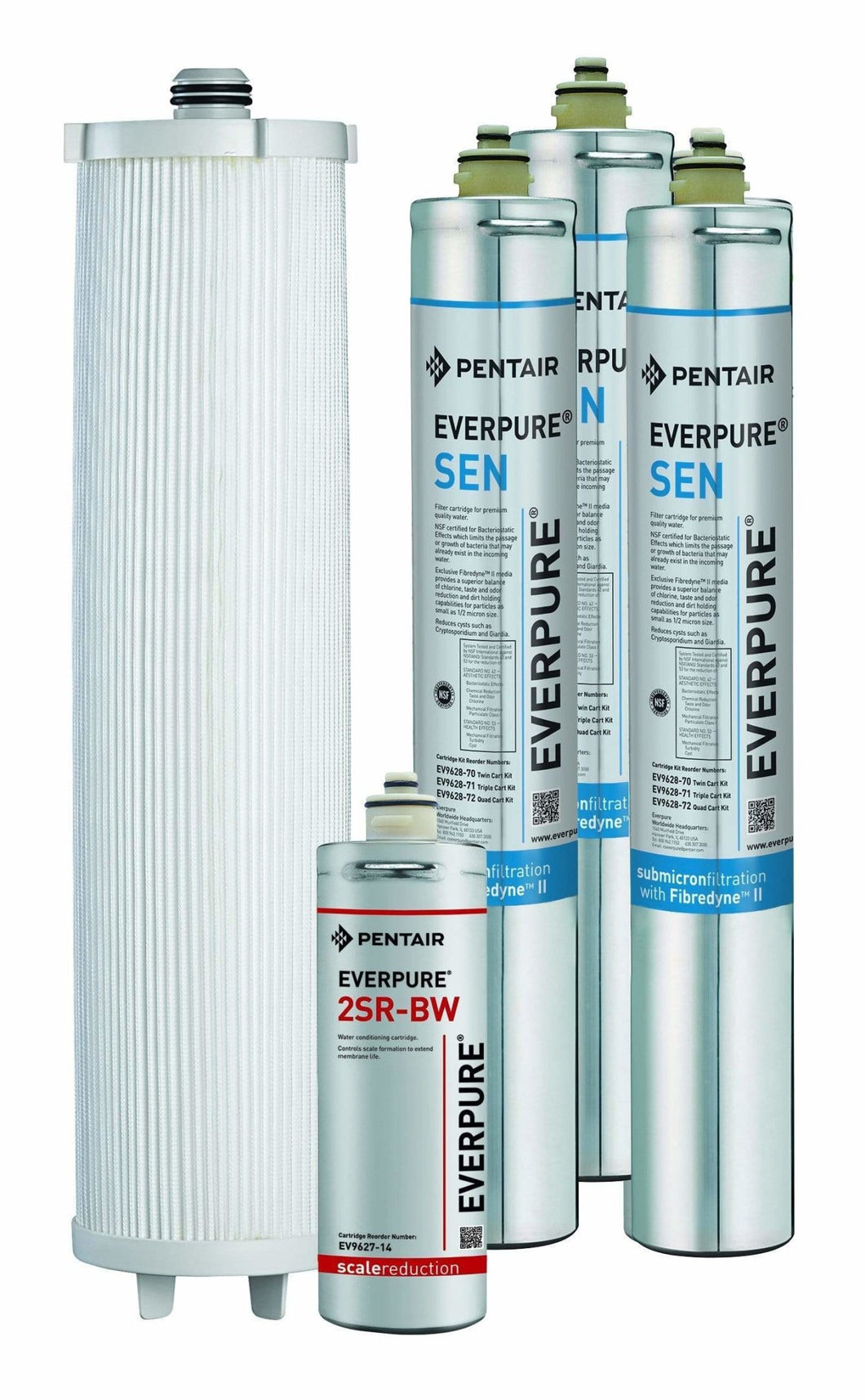 Everpure Triple Endurance Cartridge Kit EV9628-71 - Efilters.net